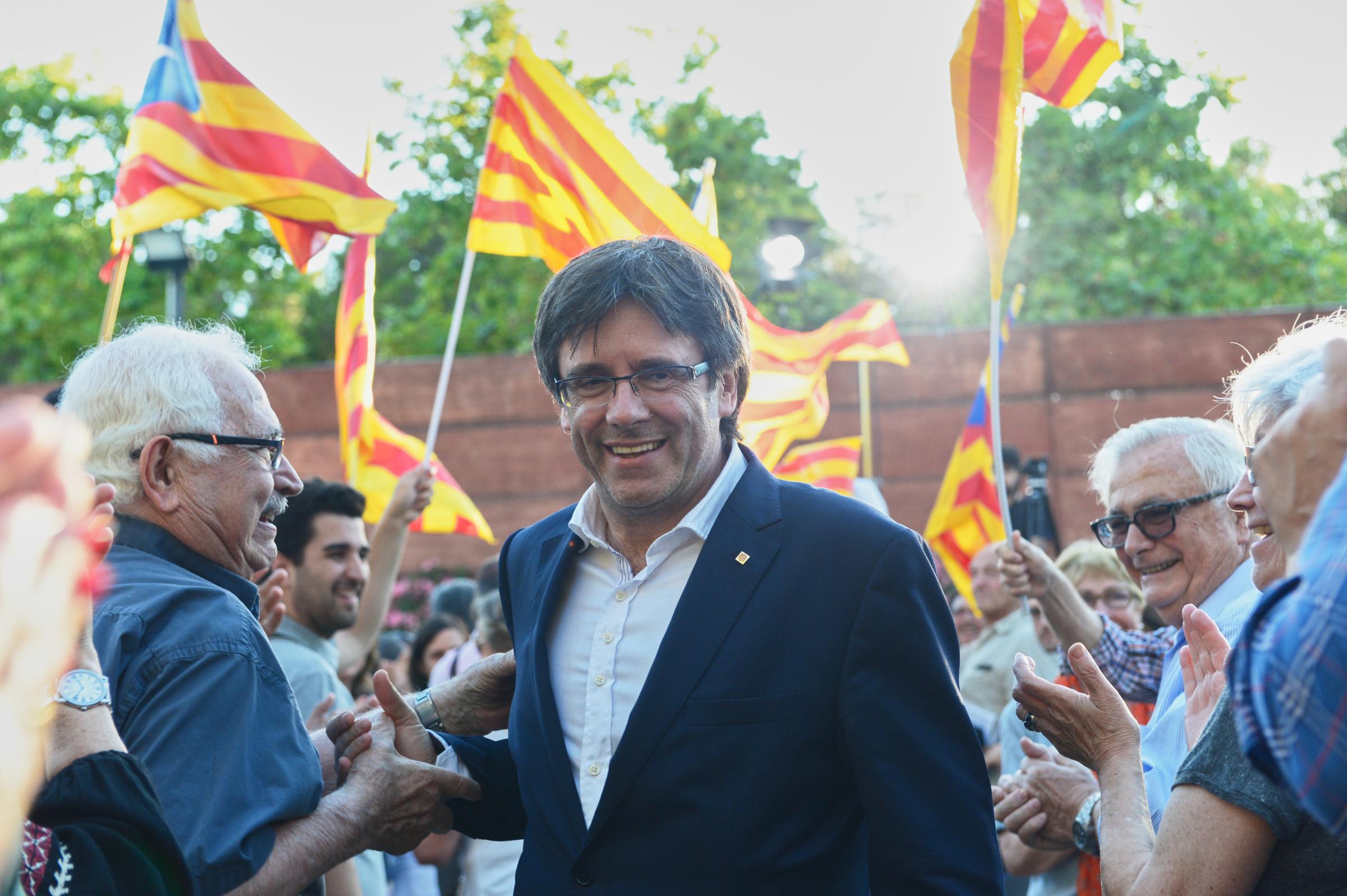 Carles Puigdemont na celowniku hiszpańskiego sądu