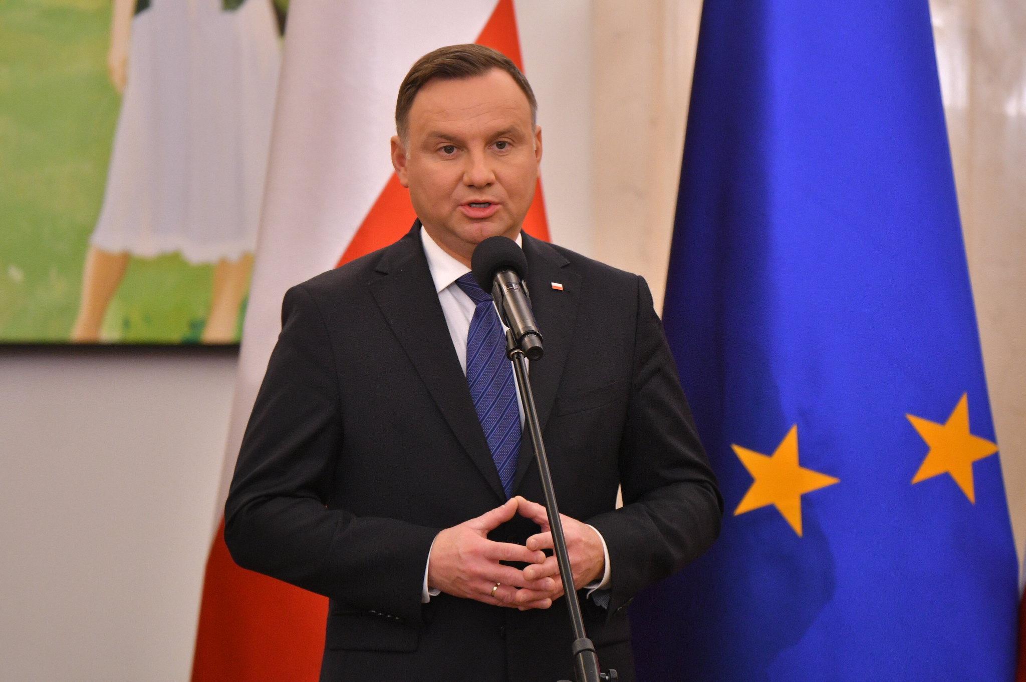 Uroczystość desygnowania Mateusza Morawieckiego na Prezesa Rady Ministrów , listopad 2019