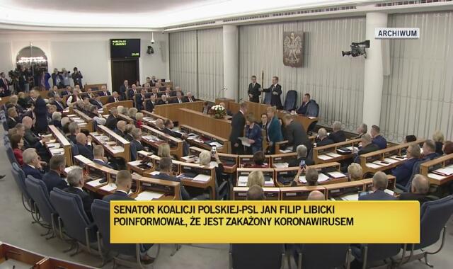 Senator Jan Filip Libicki o chorobie COVID-19