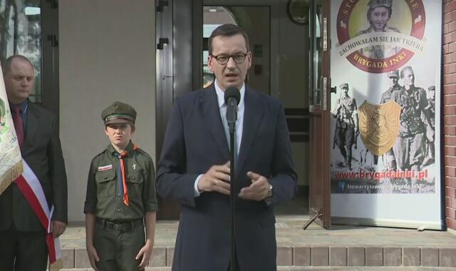 Mateusz Morawiecki ogłosił powołanie funduszu patriotycznego