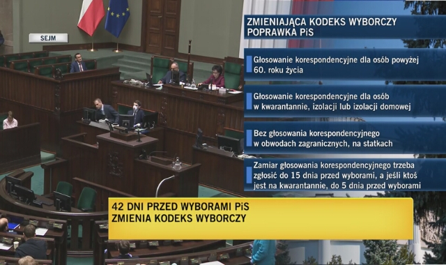 Sejm przegłosował nowelizację specustawy dotyczącej koronawirusa