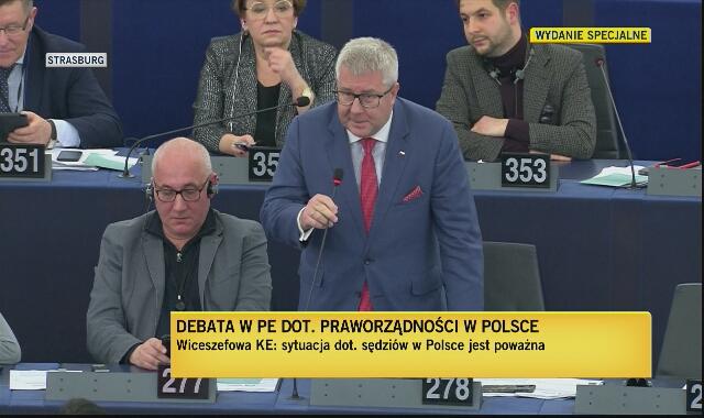 """""""Pan kłamie i jest pan kłamcą"""" - Esteban González Pons odpowiada Ryszardowi Czarneckiemu"""
