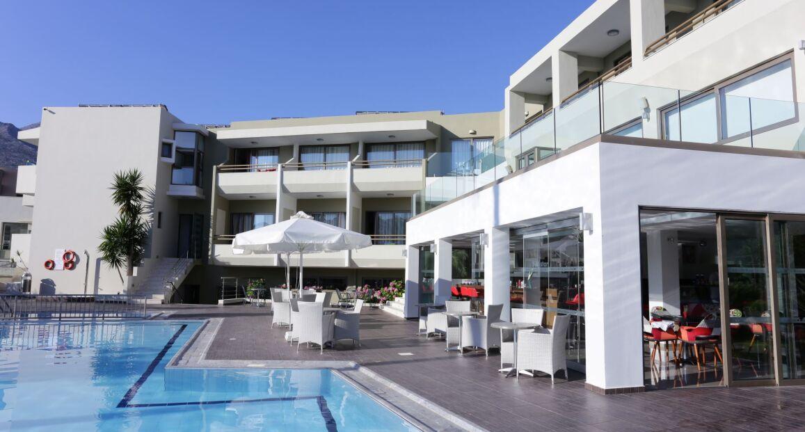 Bali Star Resort Boutique Kreta Grecja Opis Hotelu