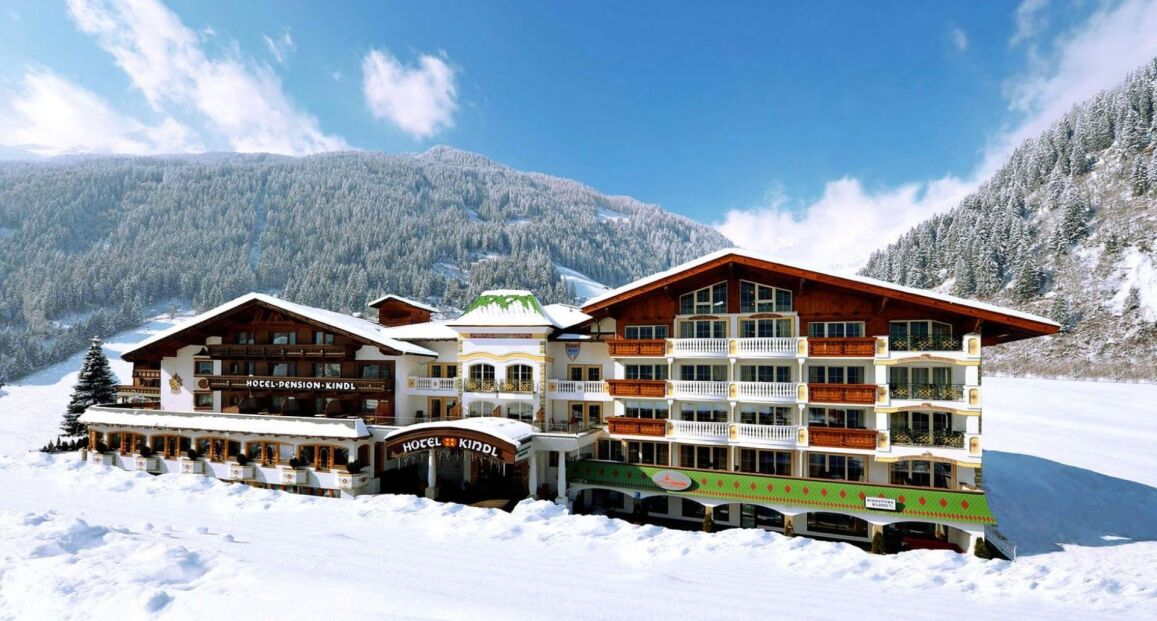 Alpenhotel kindl tyrol austria opis hotelu opinie for Design hotel stubaital
